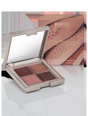 kiko color seduction eyeshadow palette 02 sensuous burgundy