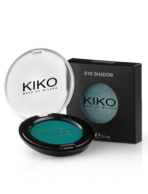 kiko eyeshadow n127 bianco satinato