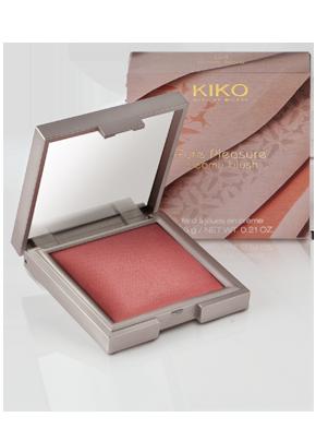 kiko pure pleasure creamy blush 04 pink kiss
