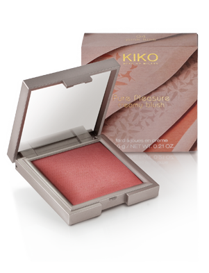 kiko pure pleasure creamy blush 04 pink kiss