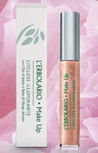 L'Erbolario, Lipgloss Illuminante, Rosa
