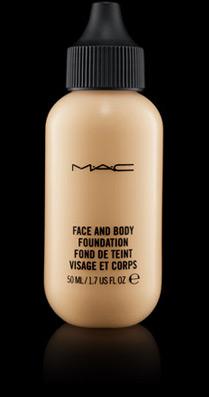mac face and body foundation luminoso satin-shine finish
