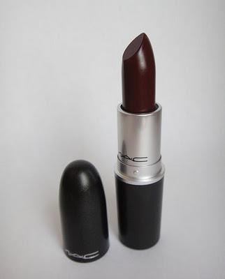 _MAC Prince Noir Lipstick4