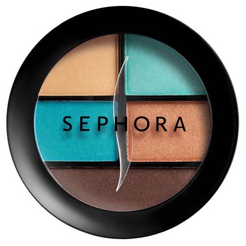 Sephora Palette 4 ombretti 1 liner n.11 Miami Vibes