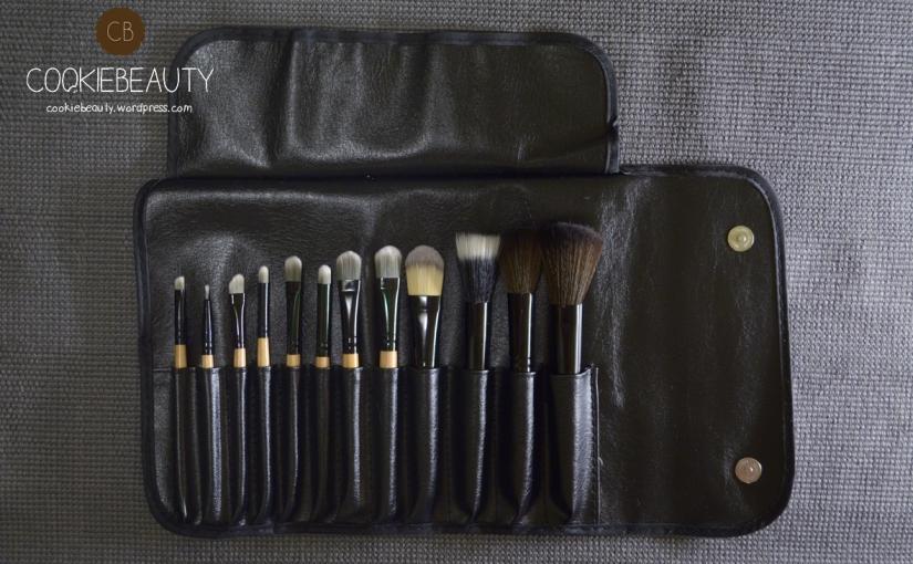Ordine Fräulein Parte 3 – 12 Pcs Ligneous Brushes Set + Simil BeautyBlender