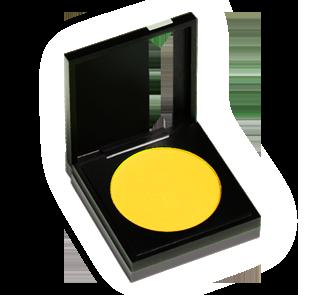 mufe-iridescent-eye-shadow- 010 yellow gold-broomhilda