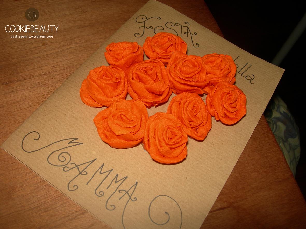 Festa Della Mamma Biglietto Bouquet Cookiebeauty