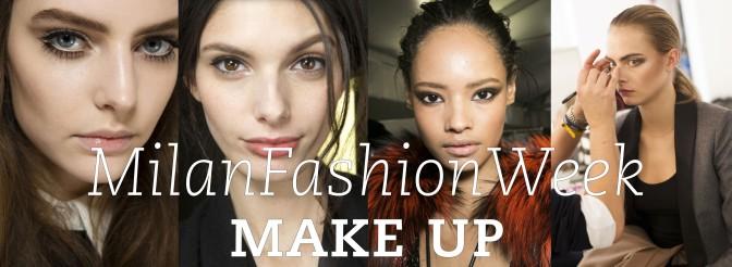 Occhi a me! I make up della settimana della moda