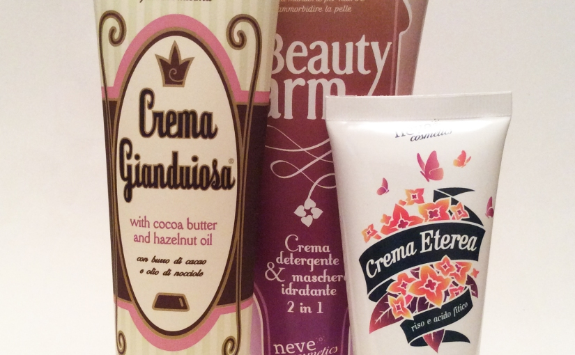 Haul Neve Cosmetics Skincare (eGianduiosa!)