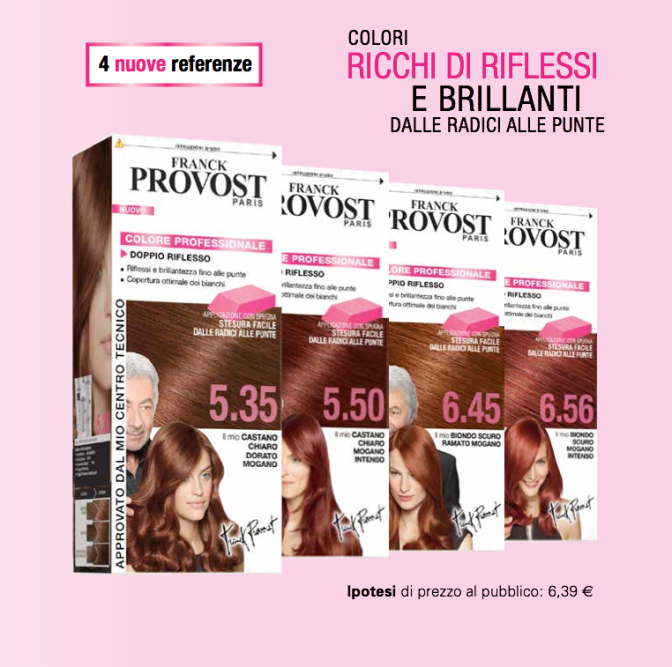 Trend Capelli Primavera Estate 2014: Doppi Riflessi Caldi con Franck Provost