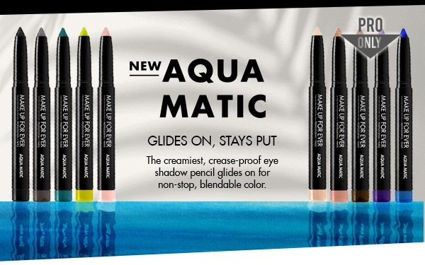 Swatches nuovi Make Up For Ever Aqua Matic – i matitonituttoproof