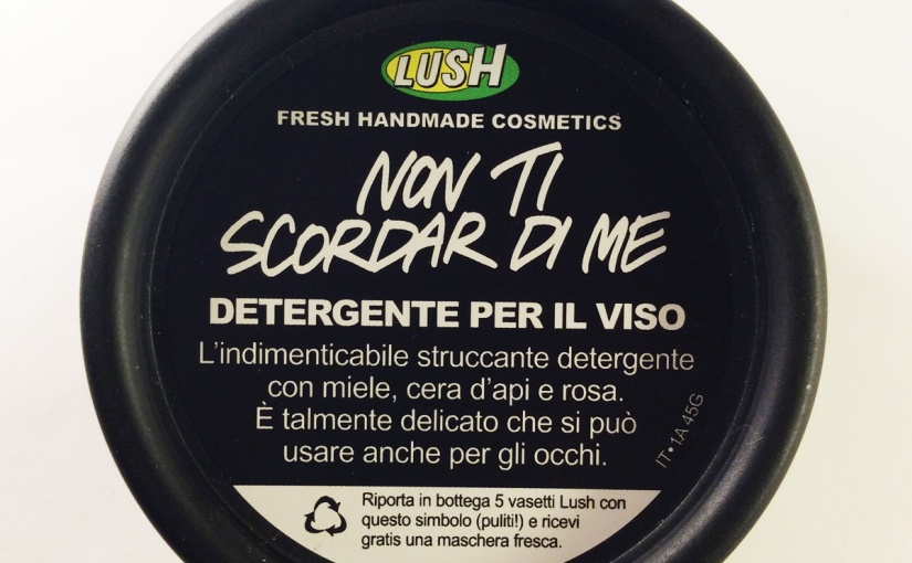 Review Struccante Lush Non Ti Scordar DiMe