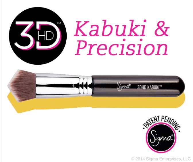 Pennelli Sigma 3DHD – Kabuki e Precision
