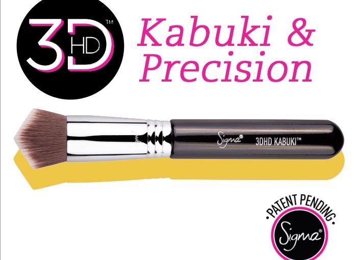 Pennelli Sigma 3DHD – Kabuki ePrecision