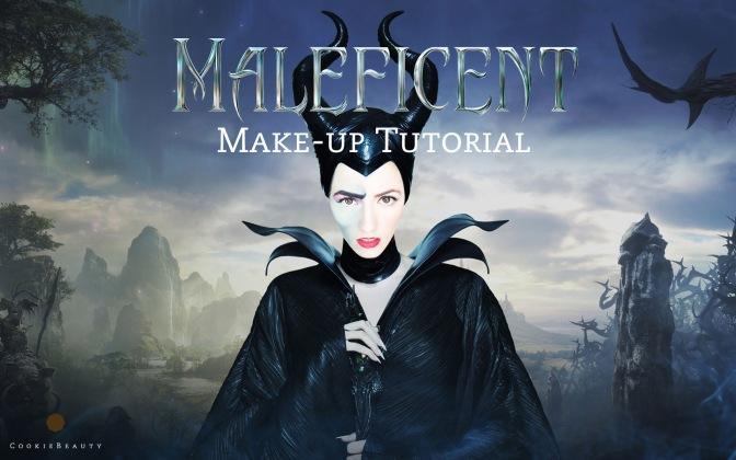 Halloween Makeup Tutorial: Maleficent