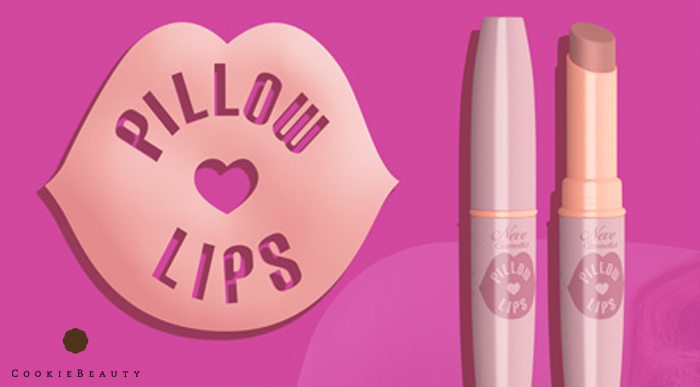 Neve Cosmetics Pillow Lips, il balsamo naturale per labbra piùvoluminose