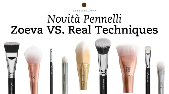 Novità Pennelli 2015 – Zoeva VS. Real Techniques