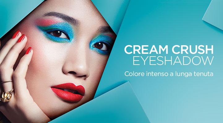 Ombretti in crema Kiko Cream Crush Lasting ColourEyeshadow