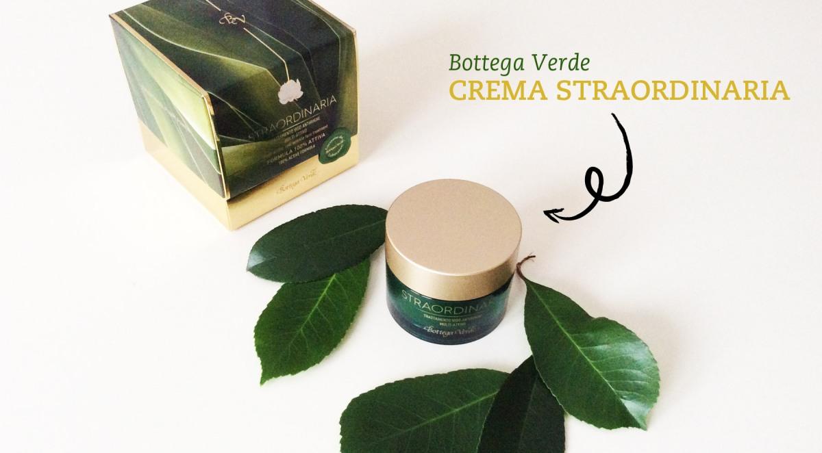 Bottega Verde Crema Straordinaria - L'antiage diventa TOUCH