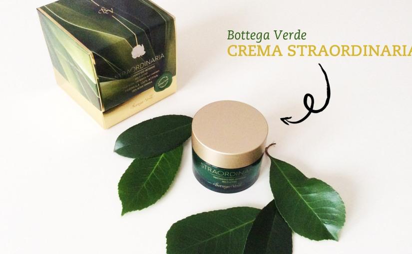 Bottega Verde Crema Straordinaria – L'antiage diventaTOUCH