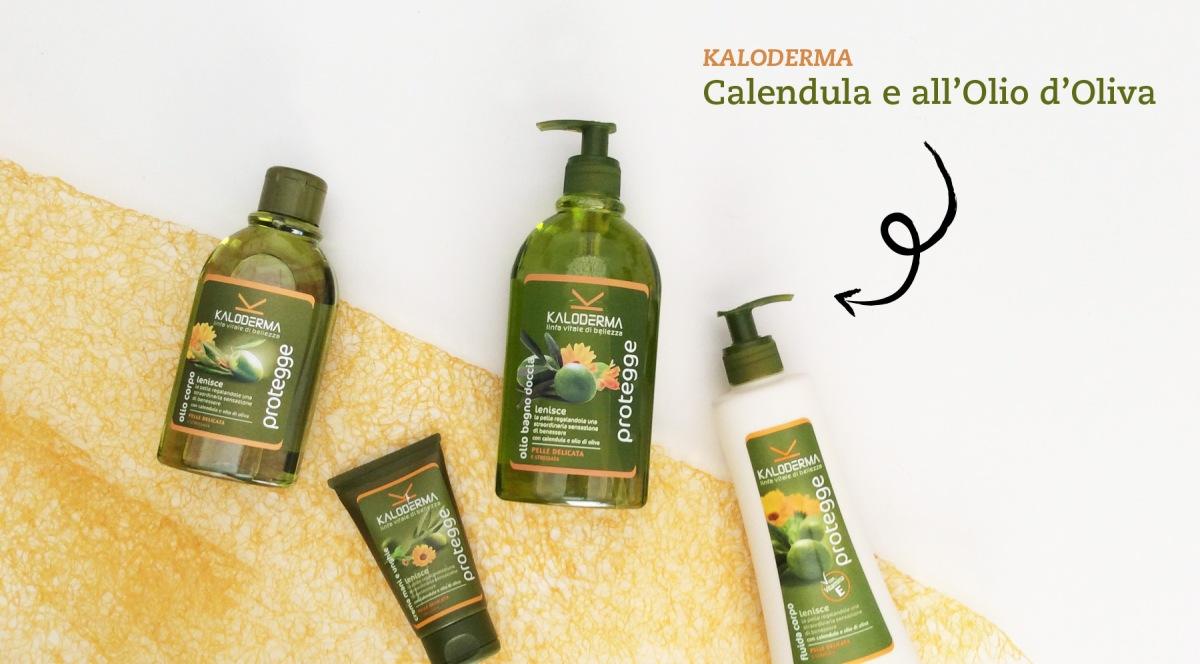Kaloderma - Nuova Linea Protegge alla Calendula e all'Olio d'Oliva