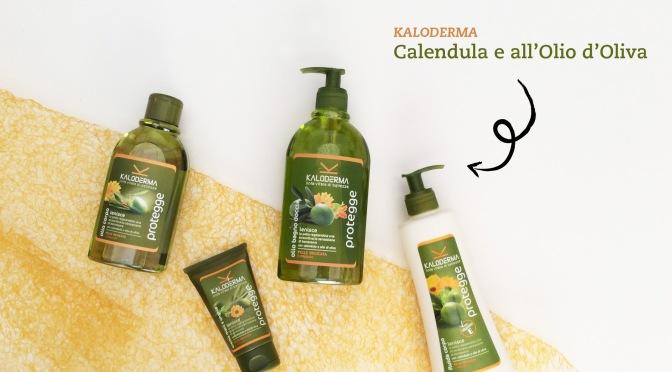 Kaloderma – Nuova Linea Protegge alla Calendula e all'Olio d'Oliva