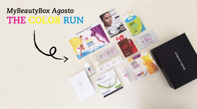 MyBeautyBox Agosto – The Color Run Edition