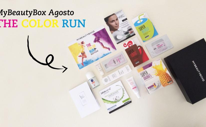 MyBeautyBox Agosto – The Color RunEdition