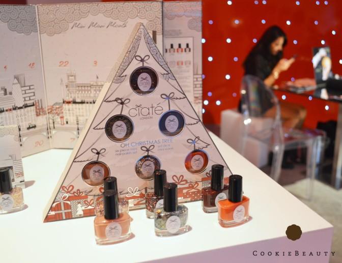 Novità Unghie Natale 2015 ( Formula X, OPI, Ciatè, Nails Inc.)