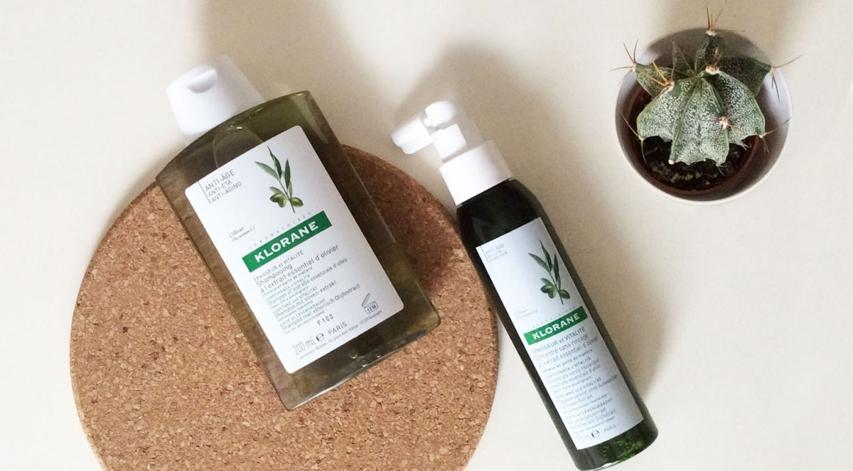 Shampoo antiage: Klorane all'Estratto Essenziale d'Ulivo