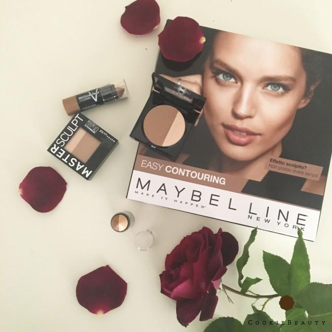 Il contouring facile con Maybelline: Master Contour e Master Sculpt