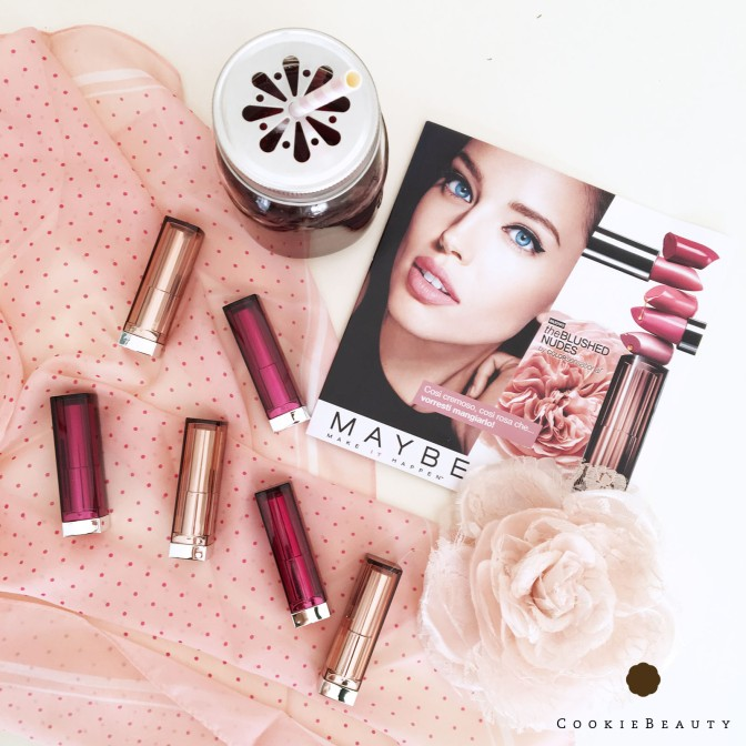 Review Rossetti Maybelline Color Sensational The Blushed Nudes