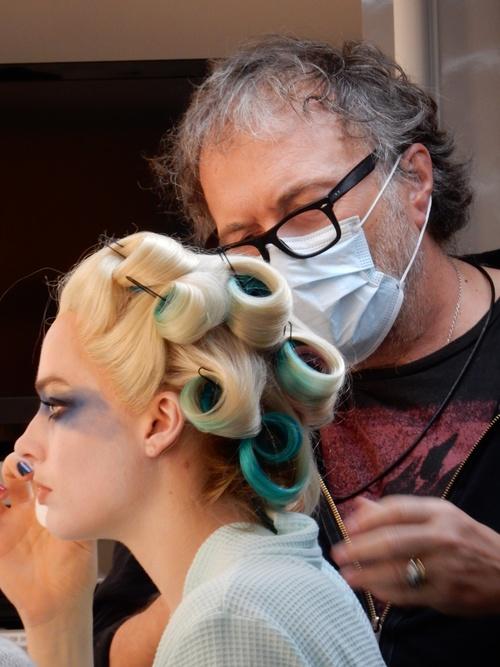 Alessandro Bertolazzi crea il makeup di Harley Quinn - Fonte immagine: www.wisdominbeauty.com