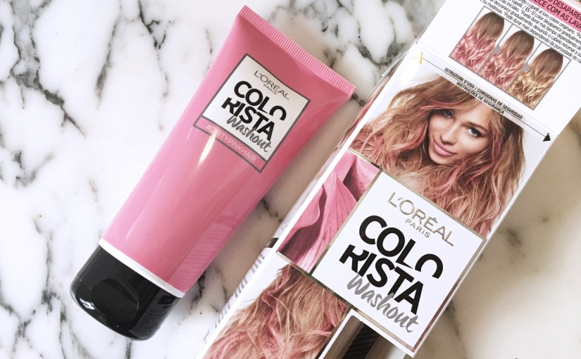 L'Oréal Colorista Washout Dirtypink – Capelli rosastep-by-step