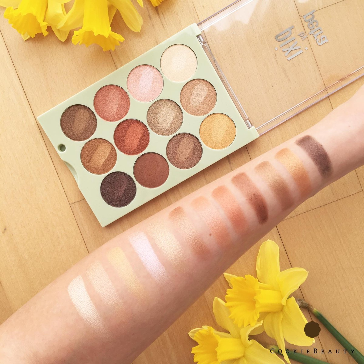 Recensione e Swatches Palette Pixie Natural Beauty & Reflex Light